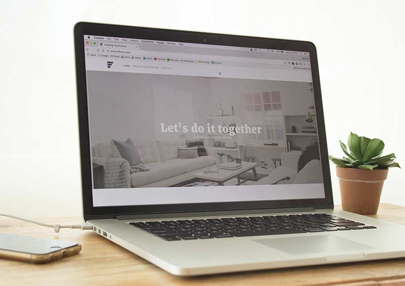 Finishing Touch Decor Homepage